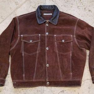Rare & Vintage 90's Karl Kani Heavy Leather Jacket